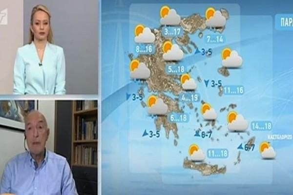 Τάσος Αρνιακός: «Έρχονται βροχές και χιόνια»