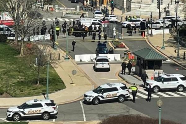 Συναγερμός στο Καπιτώλιο: Νεκροί ένας αστυνομικός και ο δράστης της επίθεσης! (Video)