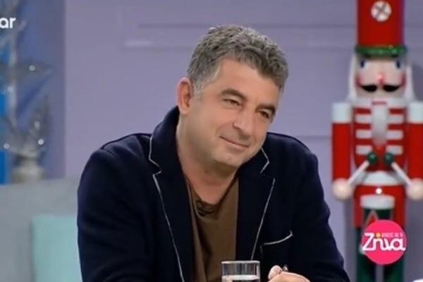 Γιώργος Καραϊβάζ: Όταν γιόρταζε τα γενέθλιά του στο πλατό της Ζήνας Κουτσελίνη (Video)