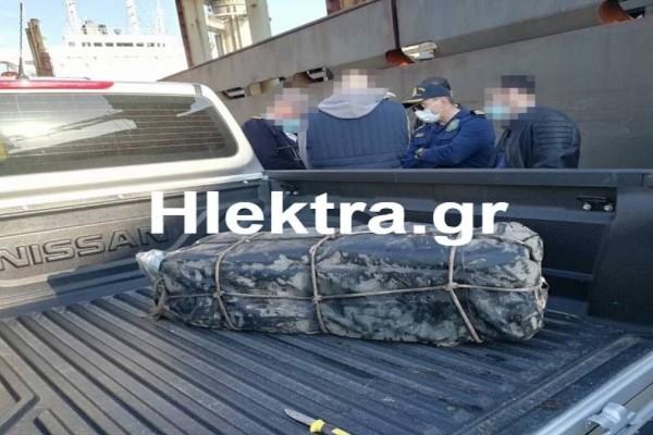 Εντοπίστηκαν 50 κιλά κοκαΐνης σε πλοίο στους Αγίους Θεοδώρους