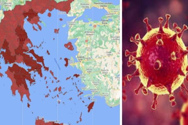 Κορωνοϊός: Συναγερμός για Θεσσαλονίκη, Κοζάνη, Αχαΐα - Ποιες περιοχές μπαίνουν στο «βαθύ κόκκινο»