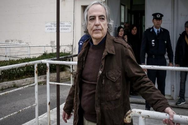 Επέστρεψε στις φυλακές Δομοκού ο Δημήτρης Κουφοντίνας