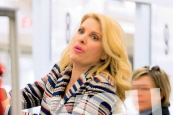 Μάλωσαν σε σούπερ μάρκετ Παντζόπουλος και Μενεγάκη