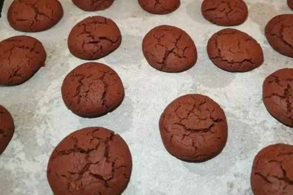 Νηστίσιμα μπισκότα με κακάο