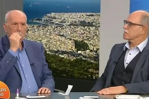 Γιώργος Παπαδάκης: Έκανε στον αέρα της εκπομπής self-test για τον κορωνοϊό (Video)