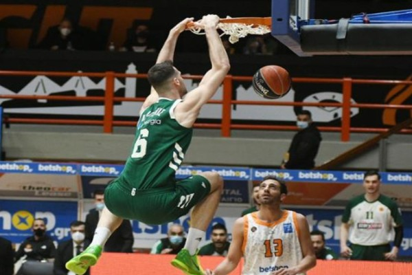 Basket League: Κυρίαρχος Παναθηναϊκός στη Πάτρα!