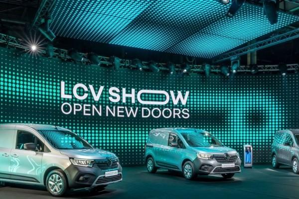 «Σουσάμι Άνοιξε» - Νέα γκάμα μοντέλων και εκδόσεις μηδενικών ρύπων για τα LCV της Renault