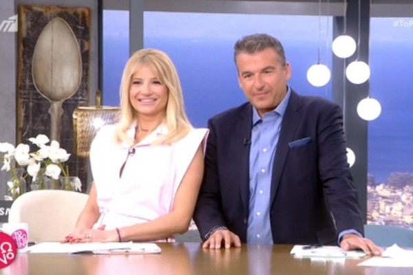 Πτώση στην τηλεθέαση για Φαίη Σκορδά και Γιώργο Λιάγκα