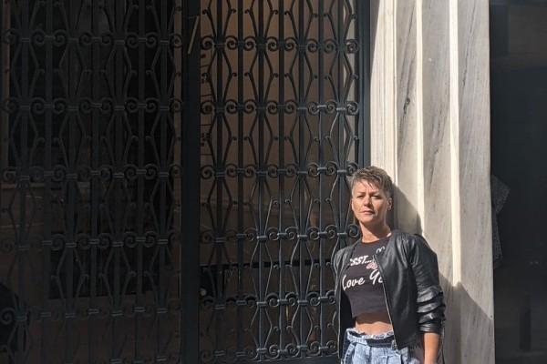 Η Σοφία Μαργαρίτη είχε μια μοναδική διαμονή με άρωμα Belle Epoque στο ομώνυμο boutique ξενοδοχείο της Αθήνας