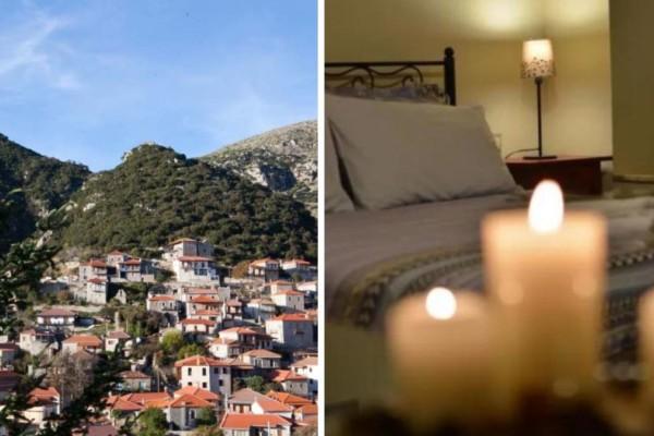 Στεμνίτσα: Κάνουμε μια βόλτα και ανακαλύπτουμε έναν ξενώνα με μοναδική θέα