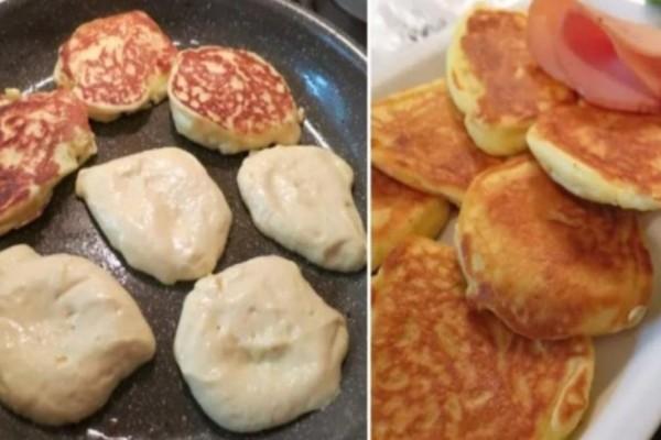 Αφράτες τηγανίτες γιαουρτιού με μόνο 4 υλικά σκέτη κόλαση
