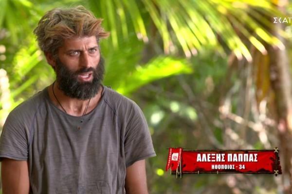 Survivor 4: Απίστευτος ο Αλέξης - Κάνει τον φίλο στον Σάκη και μετά... κανονίζει με τον Τριαντάφυλλο να τον διώξουν