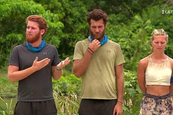 Survivor 4: Έκανε πρόταση... στους τηλεθεατές ο Τζέιμς - «Κατεβάστε ένα σφηνάκι κάθε φορά που με αναφέρει ο Αλέξης»