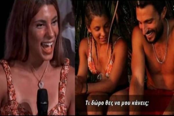 Survivor 4: Μας «δουλεύουν» στεγνά Σάκης-Μαριαλένα - Φόραγε το «κόσμημα-καρδιά» που της έδωσε και καλά χθες, στο πάρτι! (Video)