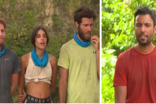 Survivor 4: Ο Ταβλαδάκης έδωσε «στεγνά» Τζέιμς-Άννα Μαρία-Μπάρτζη - Δήλωση-φωτιά για τους τρεις παίκτες!