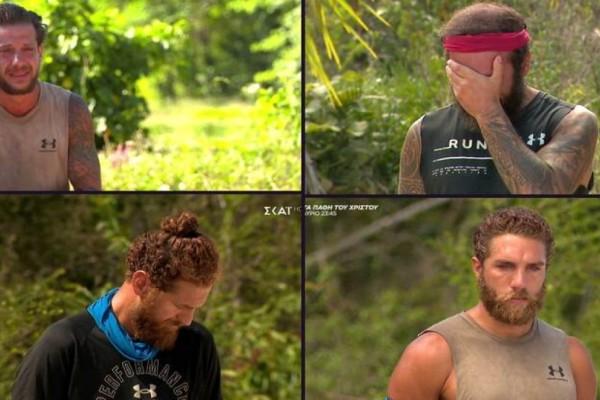 Survivor 4: Η ανακοίνωση του Λιανού «τσάκισε» τους παίκτες - Σπάραξαν Κόρο και Τριαντάφυλλος (Video)