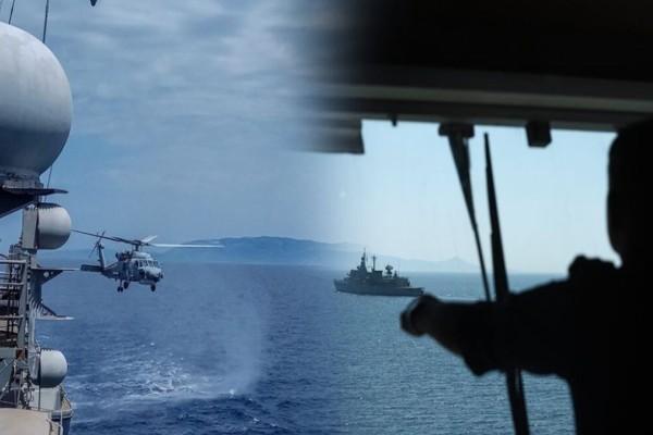 Θερμό επεισόδιο νότια της Κρήτης: Τουρκικό πολεμικό πλοίο εισέβαλε στην ελληνική υφαλοκρηπίδα και απειλεί Γαλλικό ερευνητικό, που εκτελεί νόμιμες έρευνες σύμφωνα με Ελληνική Navtex!