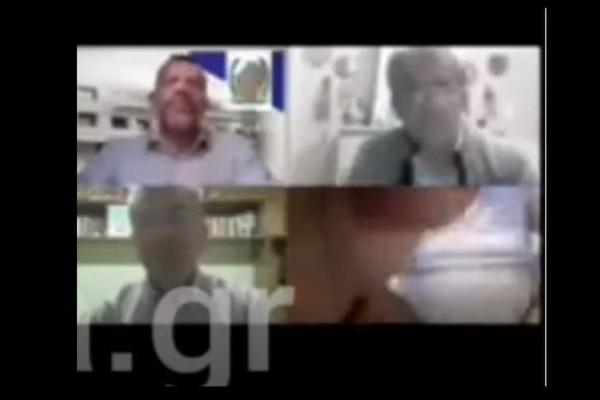 Κόρινθος: Δημοτικός σύμβουλος εμφανίστηκε σε τηλεδιάσκεψη με τα εσώρουχα