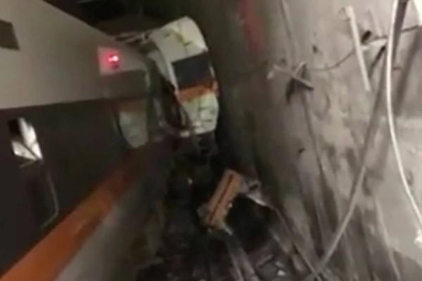 Ασύλληπτη τραγωδία στη Ταϊβάν: 36 οι νεκροί από σιδηροδρομικό δυστύχημα μέσα σε τούνελ