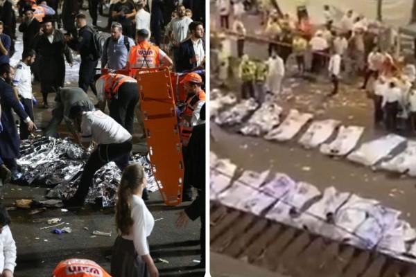 Θρίλερ στο Ισραήλ: Κατέρρευσε εξέδρα σε θρησκευτική γιορτή - 44 οι νεκροί