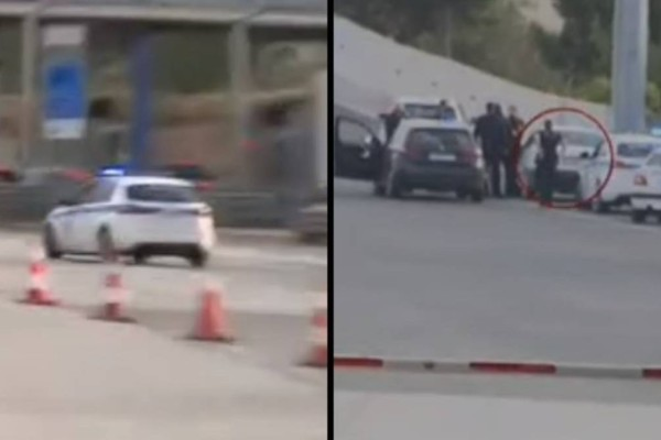 Φαρ ουέστ στα διόδια Ελευσίνας: Πάτησε γκάζι για να αποφύγει τον έλεγχο!