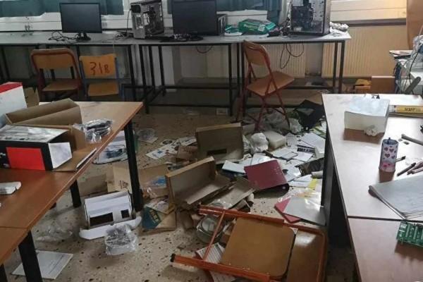 Ηράκλειο: Βανδάλισαν σχολικό κτίριο