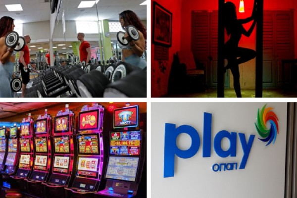 Άρση Μέτρων: Ανοίγουν γυμναστήρια, οίκοι ανοχής, καζίνο και ΟΠΑΠ Play - Όλες οι ημερομηνίες (photo-video)