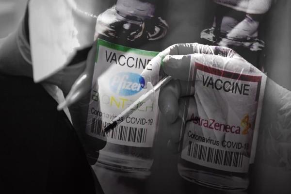 Ανατρεπτική έρευνα: «Πολλοί περισσότεροι θάνατοι μετά από εμβολιασμό με Pfizer παρά με AstraZeneca!» - Διαθέσιμα όλα τα εμβόλια και για τους 30-34