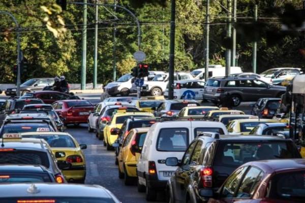 Χάος στην Αθήνα: Το μποτιλιάρισμα επέστρεψε! Σε ποιους δρόμους υπάρχουν προβλήματα (photo)