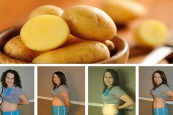 Δίαιτα πατάτας: Η δίαιτα των 3 ημερών με την οποία θα χάσετε 3-5 κιλά άμεσα