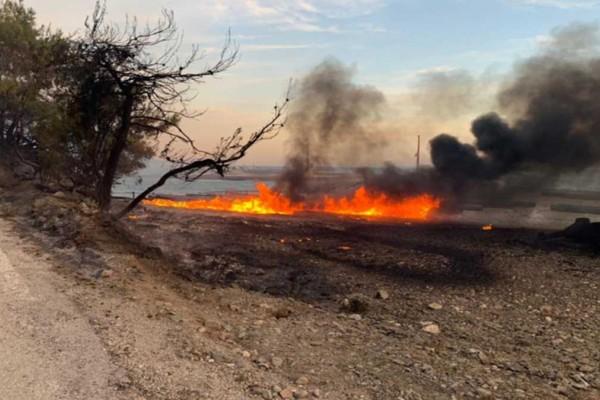 Φωτιά στον Σχίνο Κορινθίας: Έτσι εξαπλώθηκε η πυρκαγιά - Οι περιοχές της Αττικής που είναι σε συναγερμό