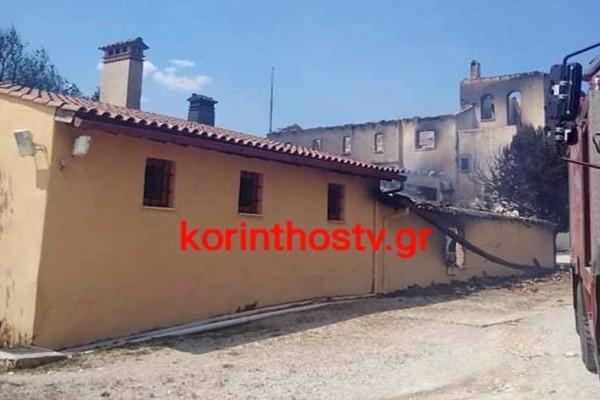 Φωτιά στον Σχίνο Κορινθίας: Στις φλόγες οινοποιείο στα Μέγαρα - Καταστροφή εκατομμυρίων