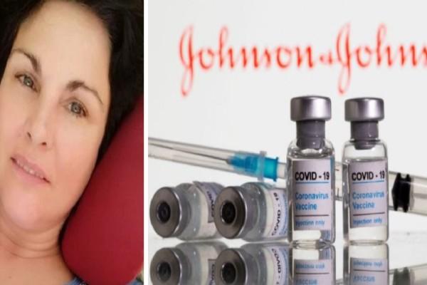 Συγκλονιστική μαρτυρία: «Σας παρακαλώ πείτε την αλήθεια στον κόσμο» - Γυναίκα κινδύνευσε να πεθάνει από το εμβόλιο Johnson & Johnson