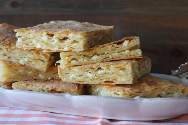 Εύκολη και νόστιμη τυρόπιτα από το Μέτσοβο