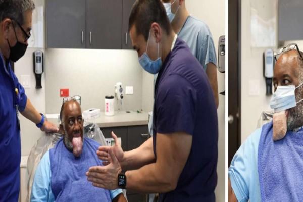Παρενέργεια σοκ σε ασθενείς με κορωνοϊό: Εμφάνισαν μακρογλωσσία, σε τέτοιο βαθμό που οι γλώσσες τους κρέμονταν έξω από το στόμα τους