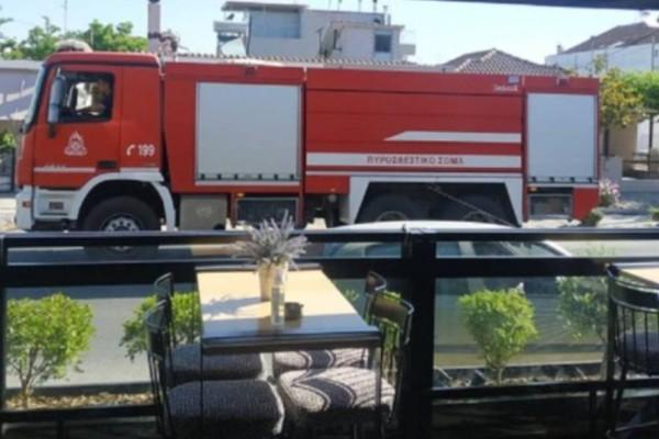 Συναγερμός στη Λάρισα: Έκρηξη σε αποστακτήριο με τραυματίες