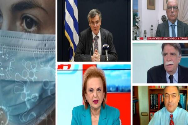 Μέχρι πότε θα φοράμε μάσκα; Τι λένε Τσιόδρας, Παγώνη, Βατόπουλος, Τζανάκης & Βασιλακόπουλος (Video)