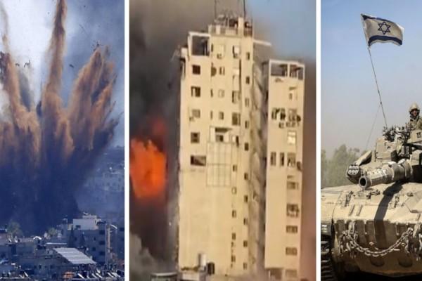 Φλέγεται η Μέση Ανατολή: To Ισραήλ ετοιμάζει χερσαία επέμβαση στη Λωρίδα της Γάζας (Video)