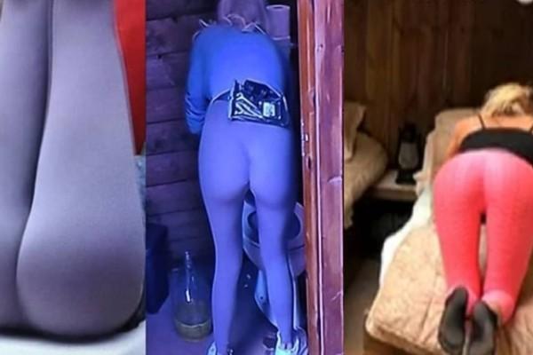 Φάρμα: Η Αλεξάνδρα Παναγιώταρου με καυτό κολάν και οι άντρες δεν ξεκολάν! (video)