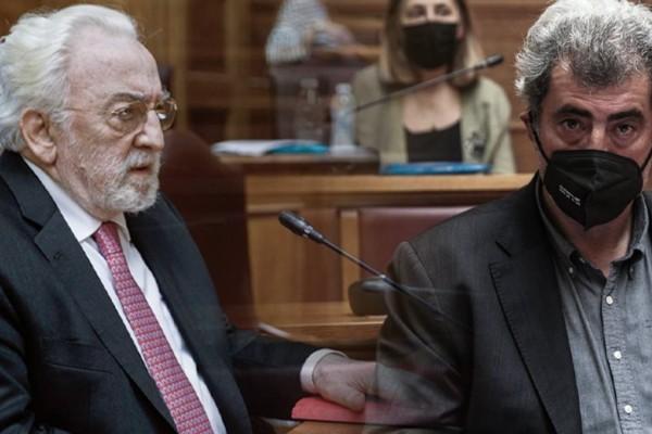 Άγριος καυγάς στη Βουλή - Καλογρίτσας σε Πολάκη: «Έλα έξω να τα πούμε» - Ποιος είναι ο ¨αριστερός εργολάβος¨ που πυροβολεί τον ΣΥΡΙΖΑ