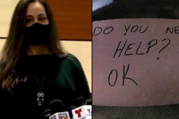 Ηρωΐδα σερβιτόρα παρατήρησε την κακοποίηση 11χρονου και το έσωσε με ένα σημείωμα