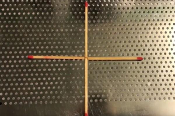 Με αυτή τη σπαζοκεφαλιά θα κολλήσεις άσχημα! Μπορείς να μετατρέψεις τον σταυρό σε τετράγωνο μετακινώντας μόνο 1 σπίρτο;