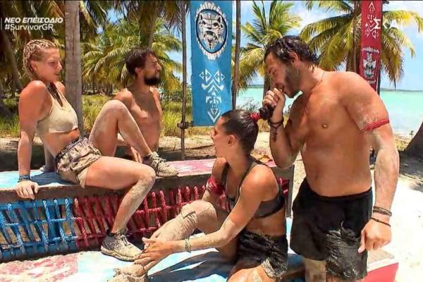 Survivor 4: Απάντησε στον «Ντάφυ» όπως έπρεπε - Κυρίαρχος στην πρώτη ασυλία ο Ασημακόπουλος