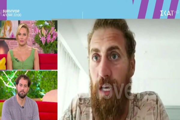 Survivor: Ο Κώστας Παπαδόπουλος έδωσε... στεγνά Σάκη και Τζέιμς (Video)