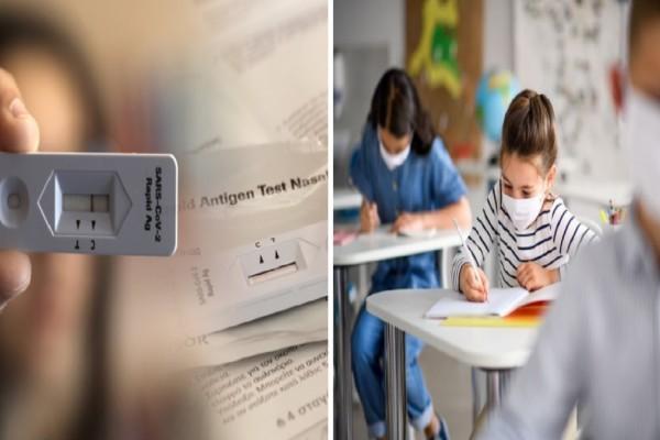 Σχολεία: Υποχρεωτικά τα self test και στα νηπιαγωγεία! (Video)