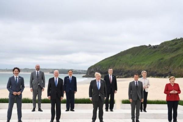 Οι G7 βάζουν φρένο στην Κίνα και τον αθέμιτο ανταγωνισμό - Δωρεά 1 δισ. εμβολίων σε φτωχές χώρες του πλανήτη