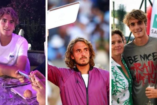 Ραγίζει καρδιές ο Στέφανος Τσιτσιπάς: Πέθανε η γιαγιά του 5 λεπτά πριν τον τελικό - 14 πράγματα που δεν γνώριζες για τον Έλληνα τενίστα