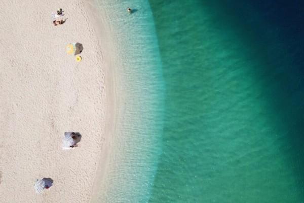 Αμμόγλωσσα: Η μαγευτική παραλία της Λευκάδας που λίγοι γνωρίζουν (Video)