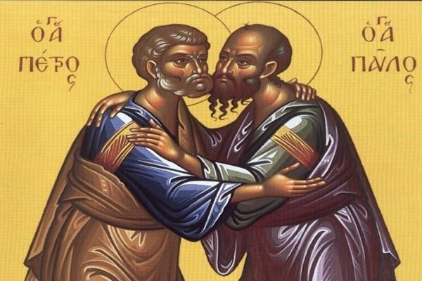 Η ιστορία των Αγίων Αποστόλων Πέτρου και Παύλου - Παράδειγμα αδελφικής αγάπης και αληθινής ενότητας στη ζωή της Χριστιανικής Εκκλησίας