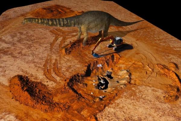 «Αυστραλοτιτάν»: Ο δεινόσαυρος από την Αυστραλία πού έχει μήκος όσο ένα γήπεδο μπάσκετ!